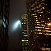 Light Beam in Midtown Manhattan - New York, New York