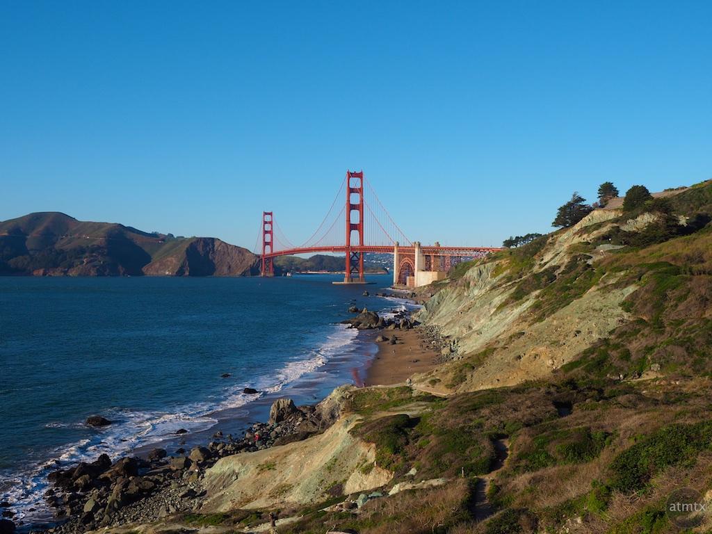 Golden Gate Bridge from Battery Crosby - San Francisco, California