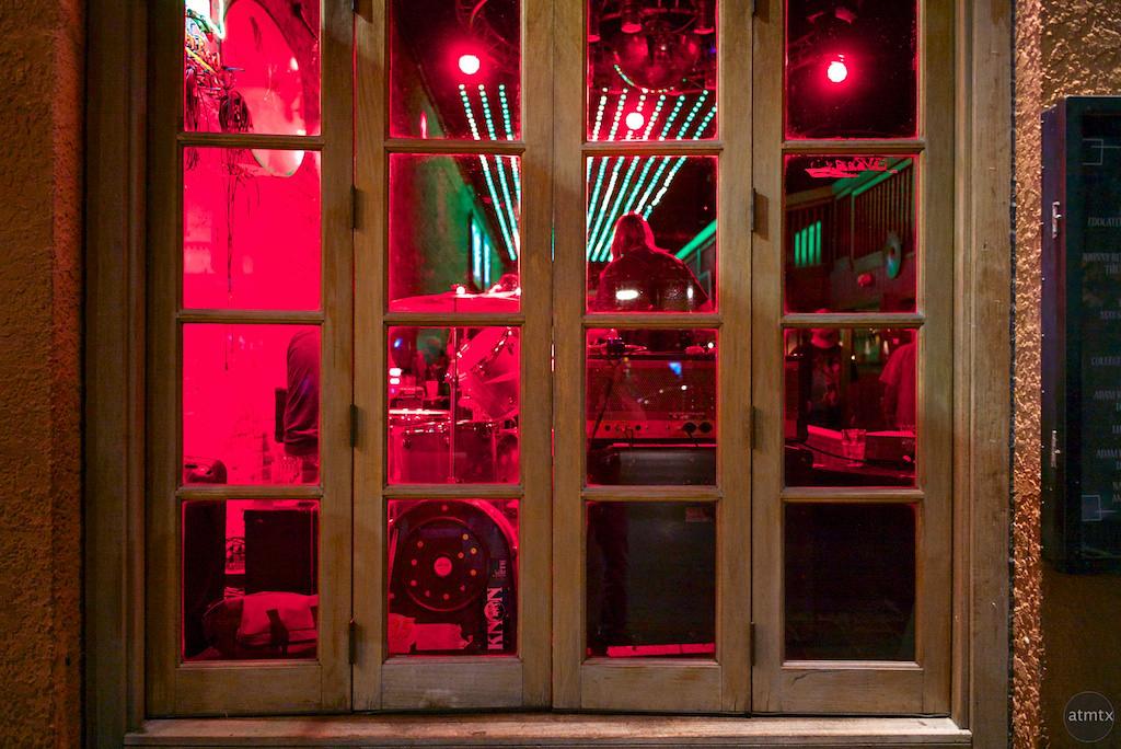 Closed Window, 6th Street - Austin, Texas