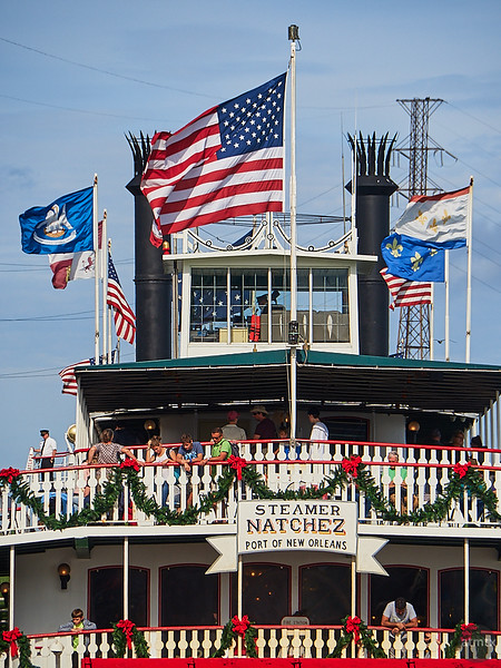 Flags of the Natchez - New Orleans, Louisiana