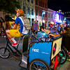 Pedicabs in Waiting, 6th Street - Austin, Texas