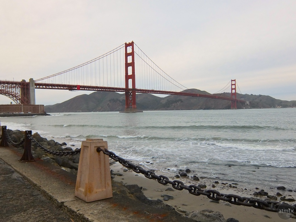 Golden Gate Bridge - San Francisco, California (Fujifilm XF1)