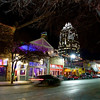 Speeding Car, 6th Street - Austin, Texas