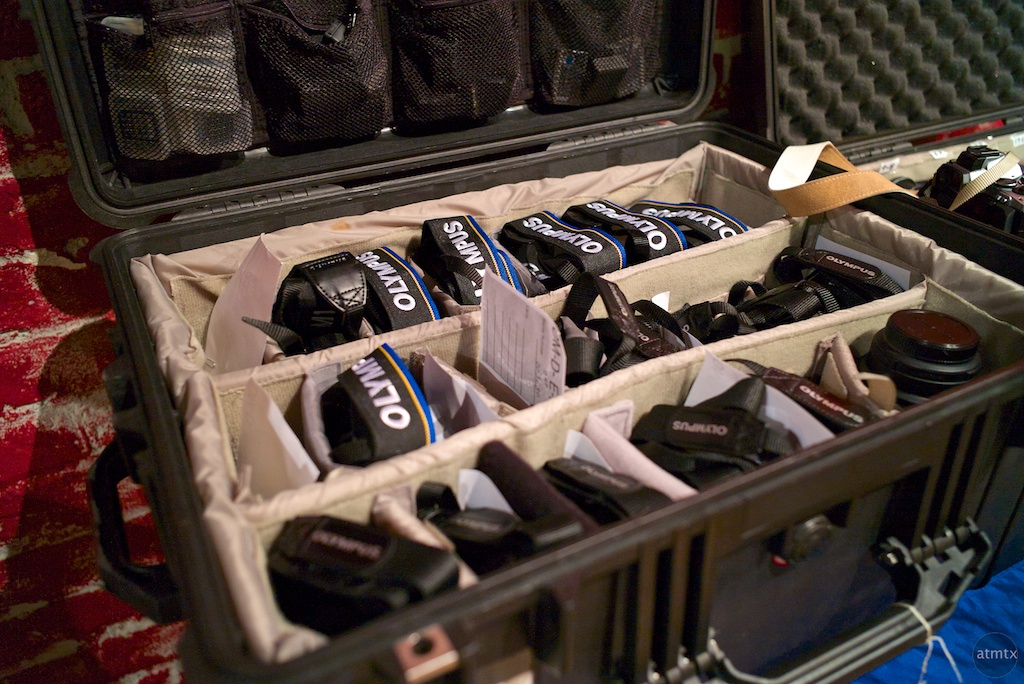 A chest full of Olympus Gear - Austin, Texas