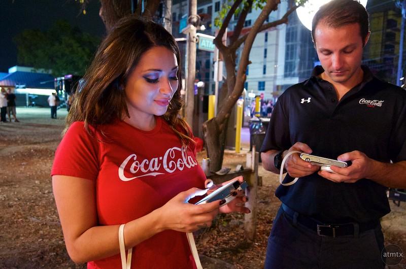 Coca Cola Reps, 2015 Fan Fest - Austin, Texas