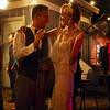 A couple in 20s fashion, Javalina Bar - Austin, Texas