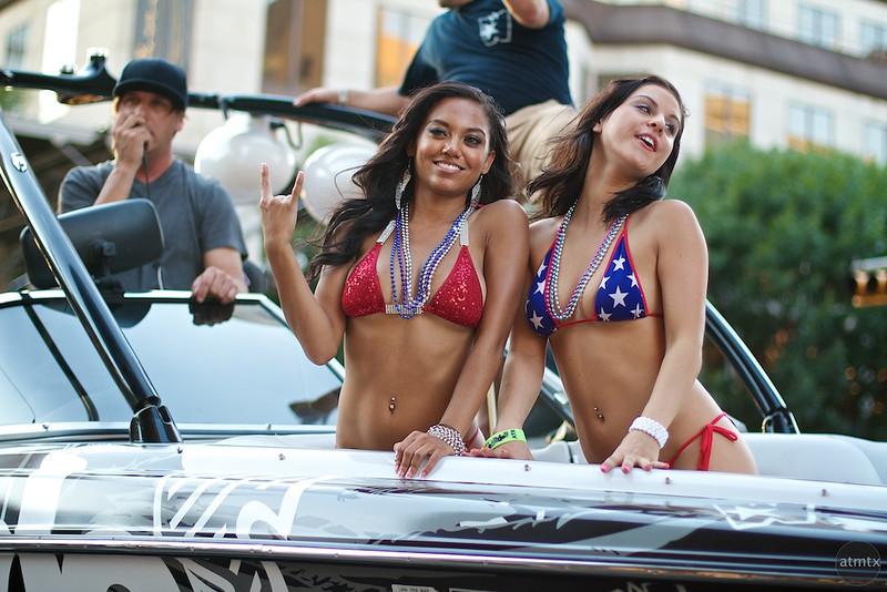 Boat Float, 2011 ROT Rally Parade - Austin, Texas