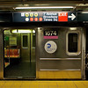 Subway Train Awaits, Time Square Station - New York, New York