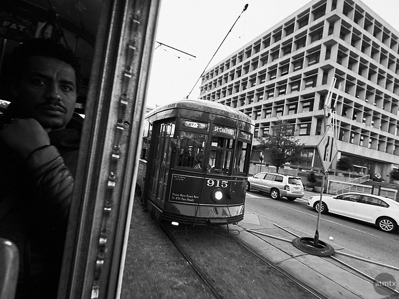 A View from the Streetcar - New Orleans, Louisiana