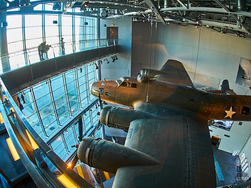 Squadron in Fisheye, The National WWII Museum - New Orleans, Louisiana