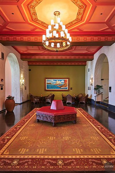 Royal Hawaiian Interior - Honolulu, Hawaii