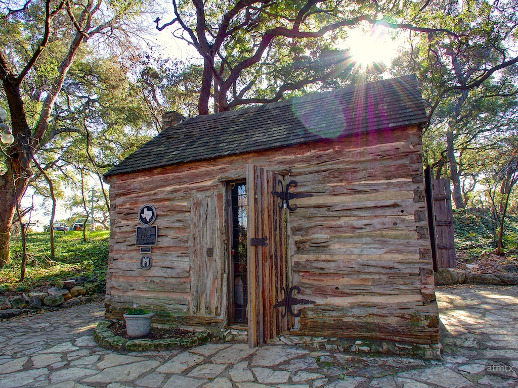 Swedish Log Cabin, Zilker Botanical Garden - Austin, Texas