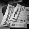 Free Newspapers, Shatabdi Express Train - Delhi, India