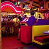 Waitresses Talking, El Mercado - Austin, Texas