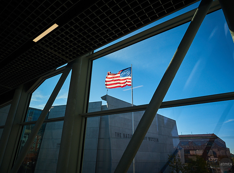 Old Glory, The National WWII Museum - New Orleans, Louisiana