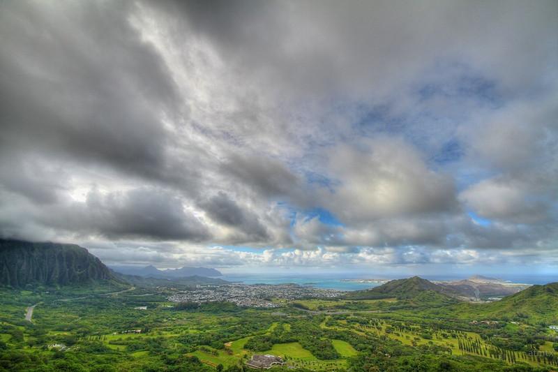 Pali Lookout - Oahu, Hawaii