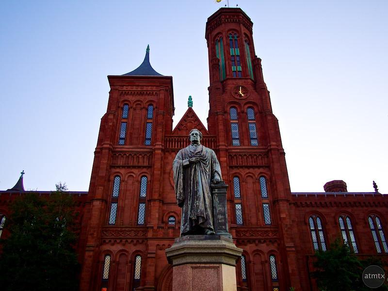 Joseph Henry and the Smithsonian Castle - Washington DC