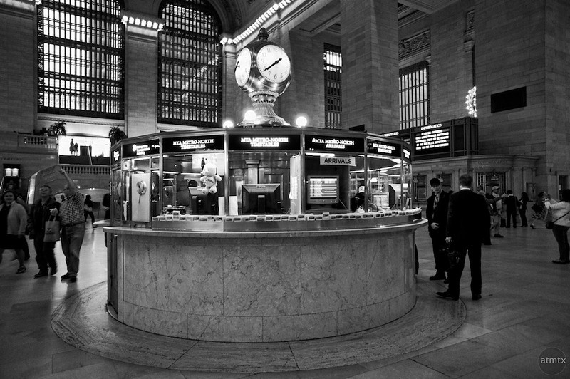 Information Booth, Grand Central Station - New York, New York