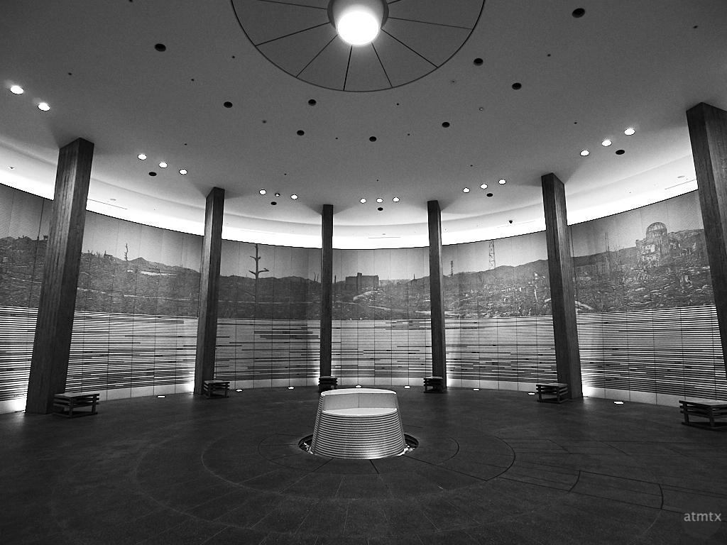 Hall of Remembrance - Hiroshima, Japan