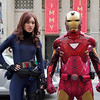 Black Widow and Iron Man - Hollywood, California