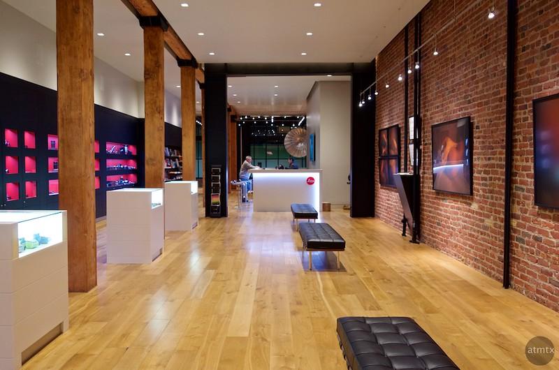 Gallery, Leica Store - San Francisco, California