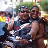 Happy Couple, ROT Rally Parade - Austin, Texas