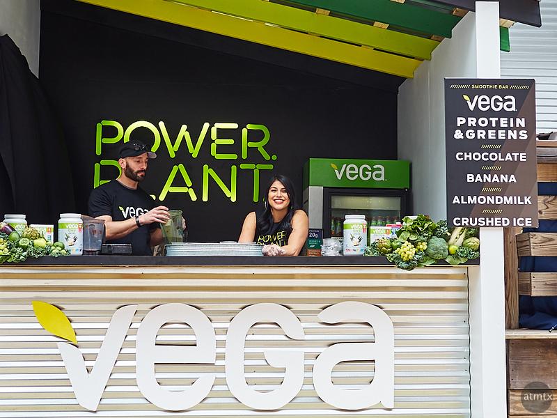 Vega Plant Power, SXSW 2018 - Austin, Texas