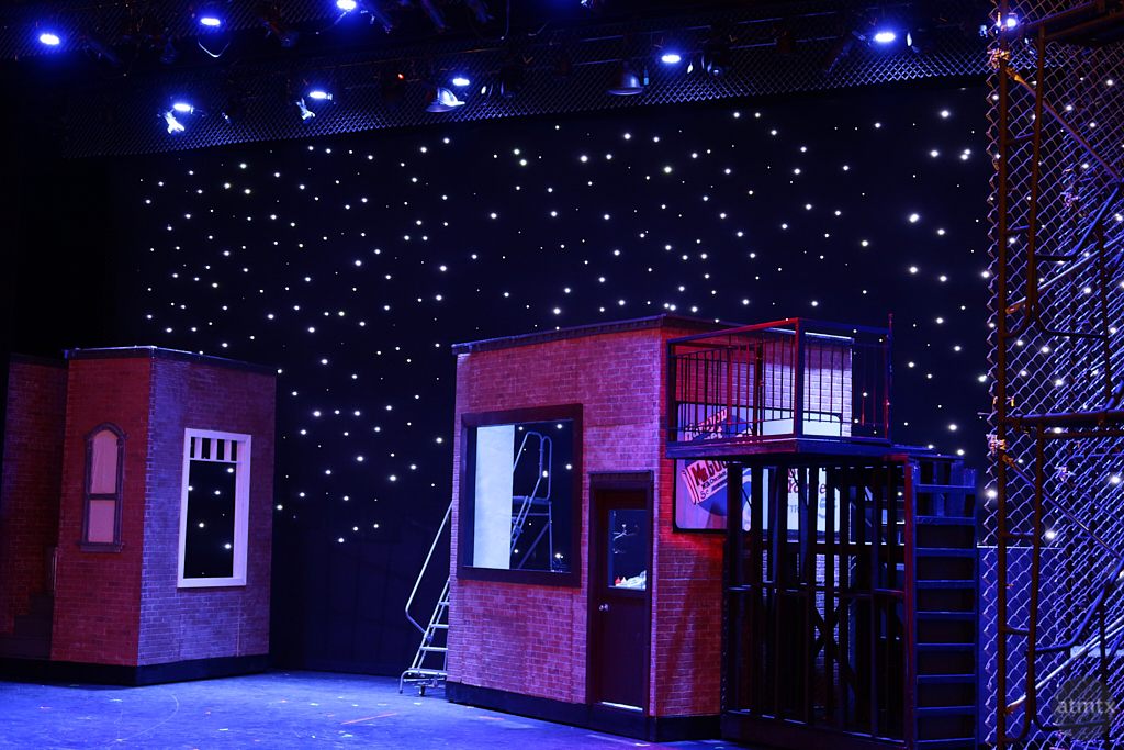 West Side Story Set, McCallum High School - Austin, Texas