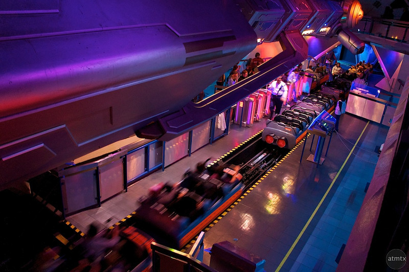 Space Mountain, Disneyland - Anaheim, California