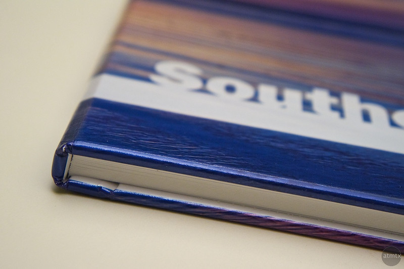AdoramaPix Photo Book Details - Cover Thickness