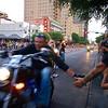 Passing Shake, ROT Rally Parade - Austin, Texas