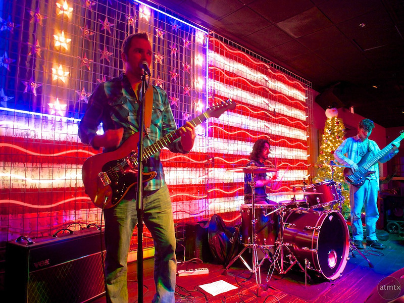 Performing at Bourbon Girl - Austin, Texas