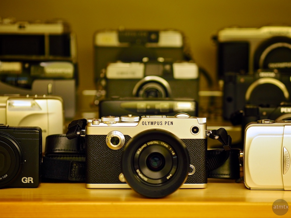 The Olympus PEN-F and the Collection - Austin, Texas