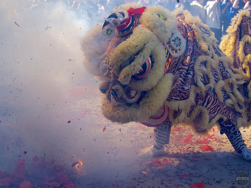 Lion Dance #2, 2013 Chinese New Year Celebration - Austin, Texas