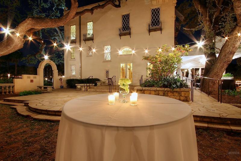 White Table at Laguna Gloria - Austin, Texas