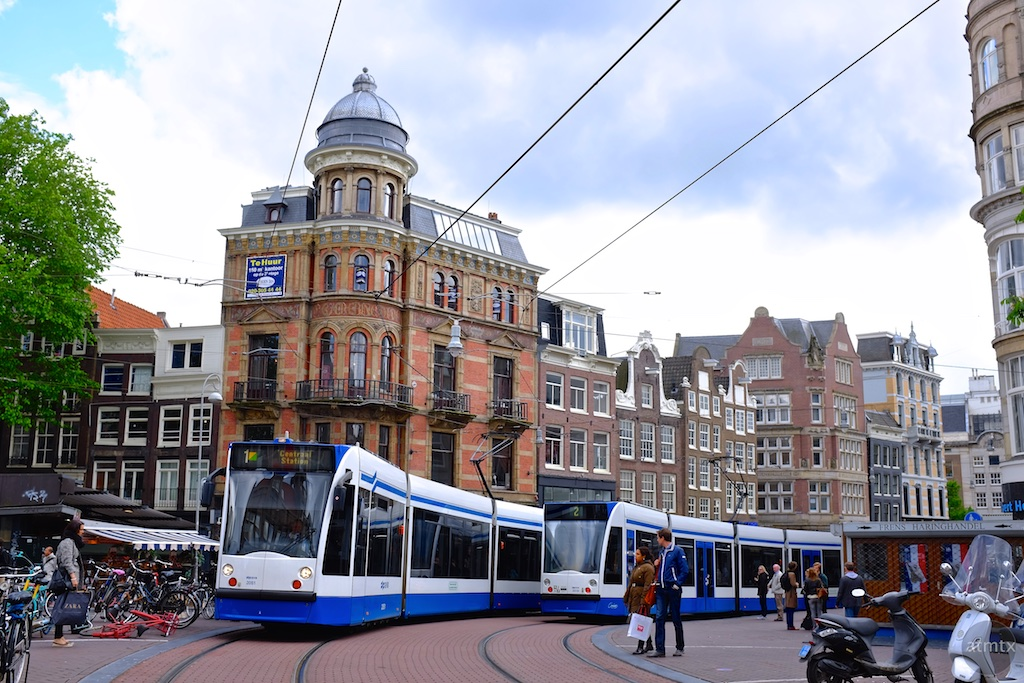 The Trams of Amsterdam #9 - Amsterdam, Netherlands