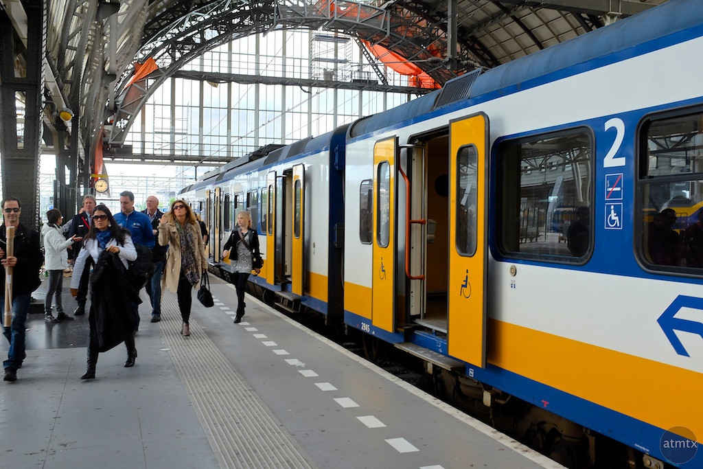 Amsterdam Centraal Arrival - Amsterdam, Netherlands