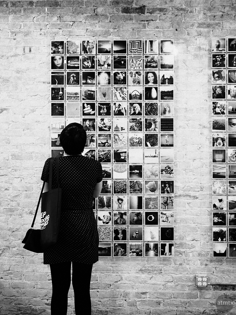Print Swap Wall, Four x Five Photo Fest 2018 - San Antonio, Texas