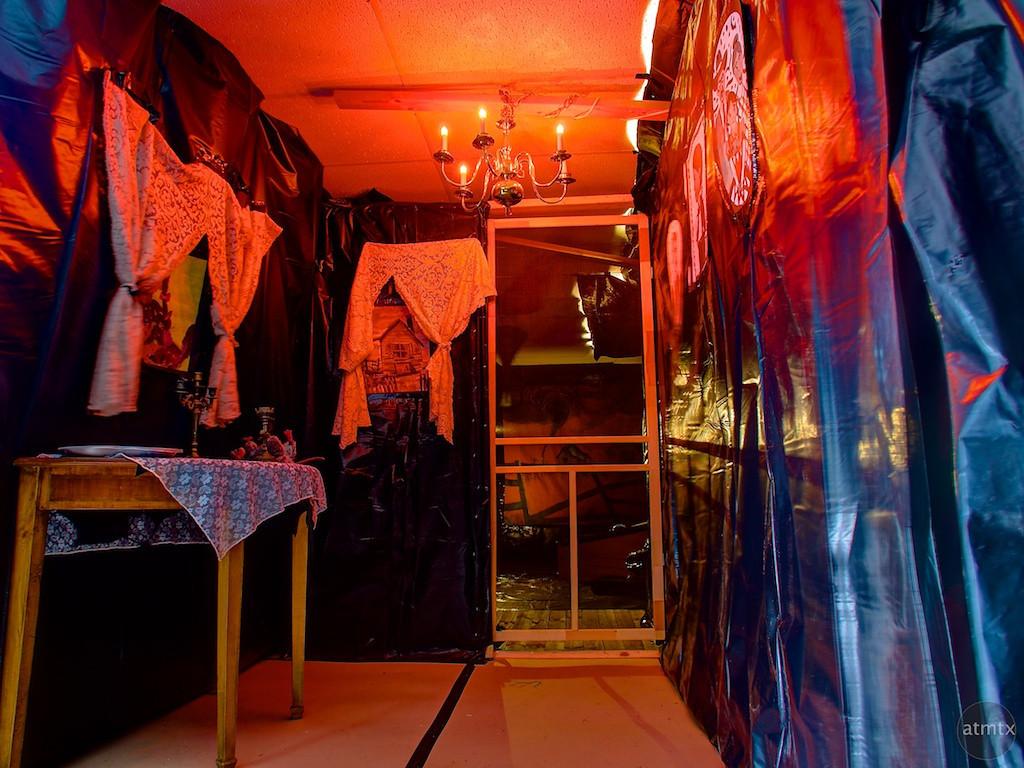 Dorothy's House , Wizard of Oz Themed Haunted House - Austin, Texas