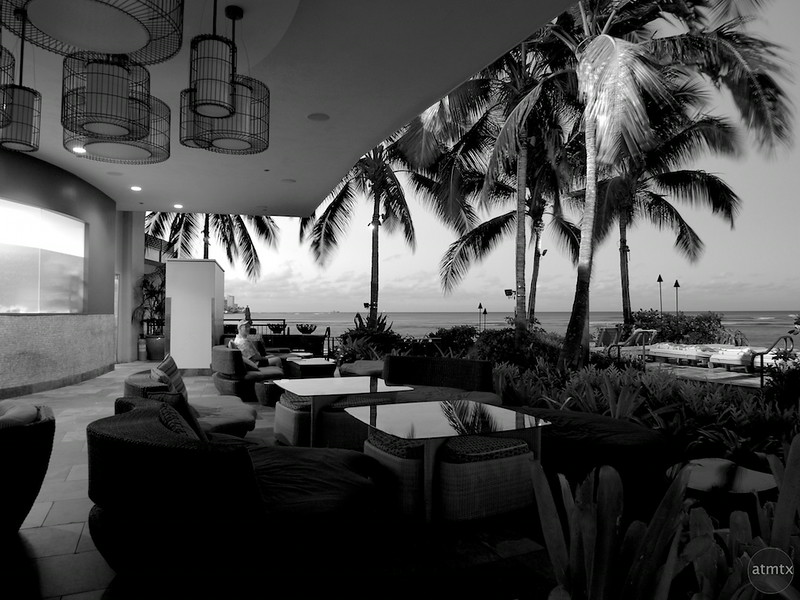 Sheraton Patio - Honolulu, Hawaii