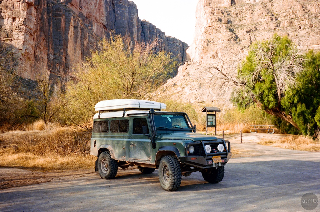 The Big Bend National and State Parks with the Nikon 35Ti and Portra ...