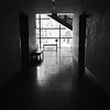 Hallway with Drama, Harry Ransom Center - Austin, Texas
