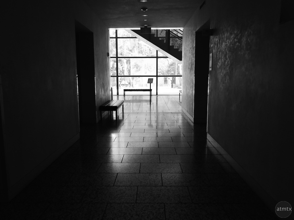 Hallway with Drama, Harry Ransom Center - Austin, Texas