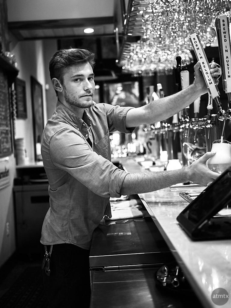 Anthony, Mort Subite Belgian Beer Bar - Austin, Texas