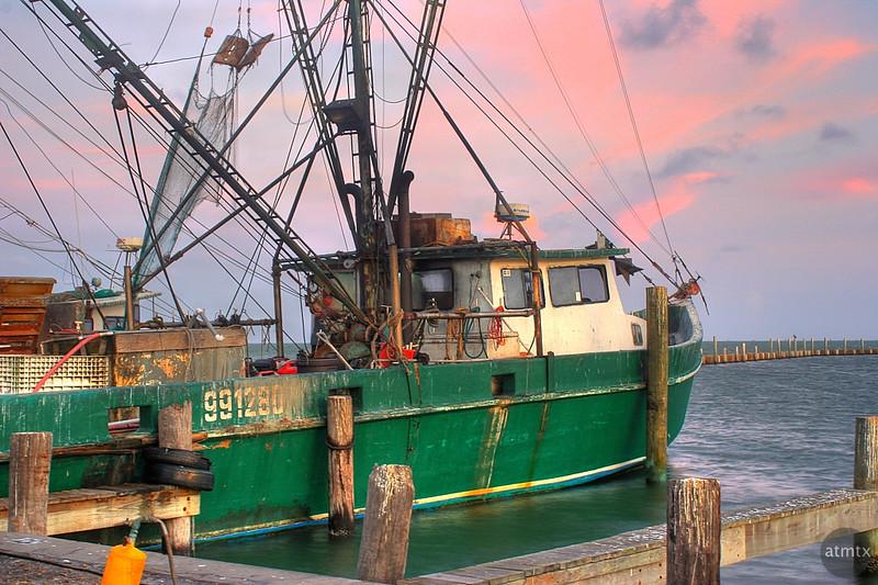Shrimp Boat - Fulton, Texas