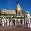 Band Performance at Main Entrance, Disneyland - Anaheim, California