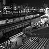 A train enters Ueno Station - Tokyo, Japan