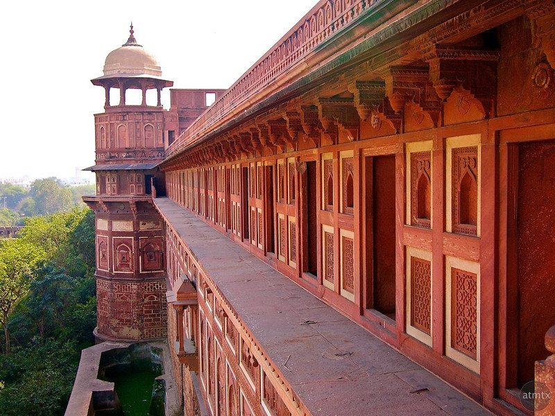 Outer Wall, Agra Fort - Agra, India