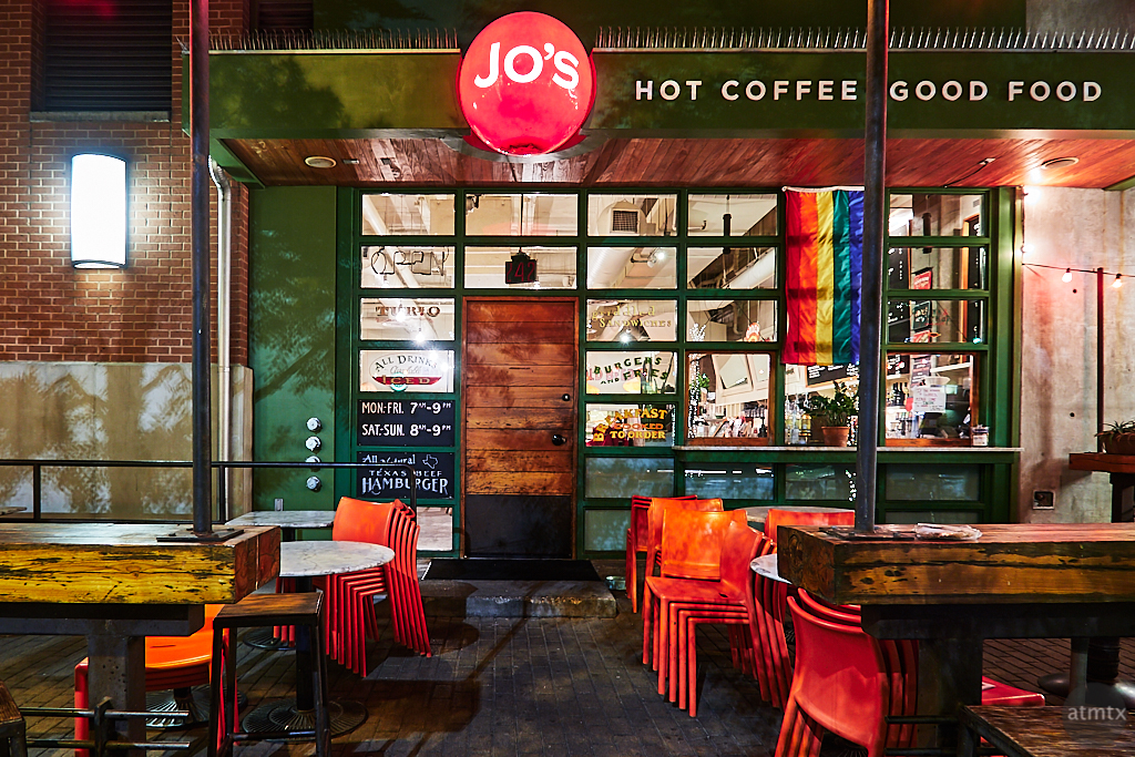 Jo's Downtown, 2nd Street District - Austin, Texas