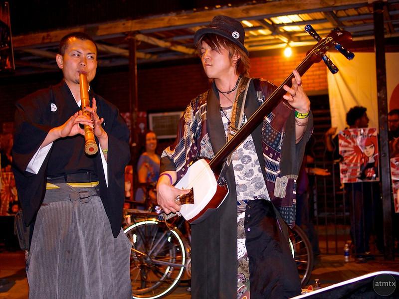 Daisuke and Jack, Red River Street - Austin, Texas